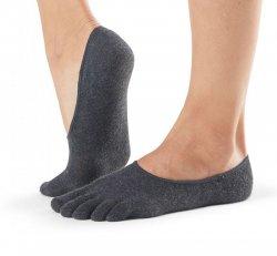 Full Toe *No Grip- Casual Dash- Carbon