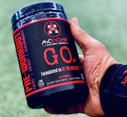 GO - Pre Workout (30 servings)