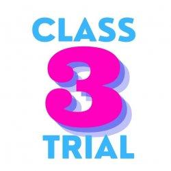 3 Class Trial