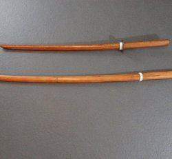Basic Wooden Training Sword - Youth and Adult