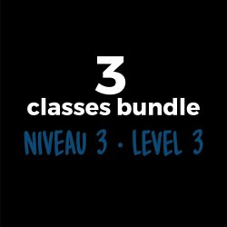3-Course Bundle Level 3