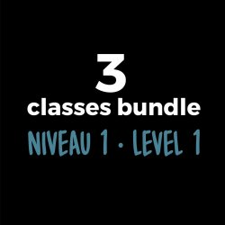 3-Course Bundle Level 1