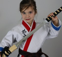 Traditional Straight Sword - Aluminum Blade