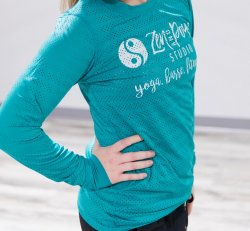 Teal Chill Long Sleeve