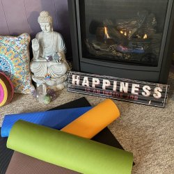 RollOutYourMatAtHome Unlimited Online Yoga pass-Valid upon purchase