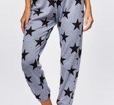 Onzie Fleece sweatpants-black stars