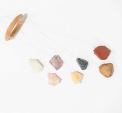 Healing Mobile - Raw Chakra Stones Wind Chime Mobile