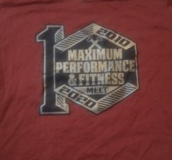 MPF - 10 year t-shirt