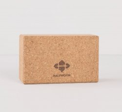 Half Moon Natural Cork Yoga Block