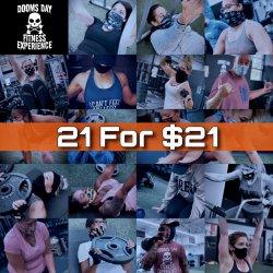 21 For $21 | Bootcamp Jumpstart