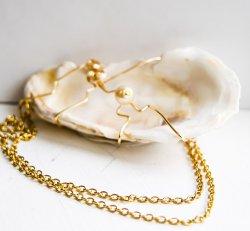 Mollusk & Pearl Necklace