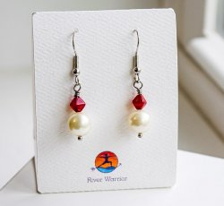 Fire & Water Hook Earrings