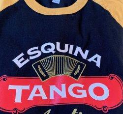 Salsa Aerobics Die Hards Black Tshirt Gold sleeve