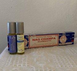 Dane Buy Local - LuSa Oils & Nag Champa Incense