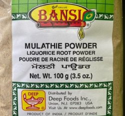 Mulathie Powder (Licorice Root Powder)