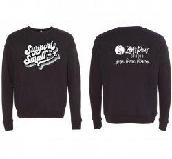 Black Support Small Sweatshirt