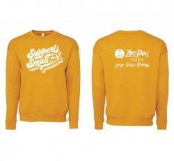 Gold Support Small Sweatshirt