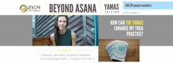 Beyond Asana: Yamas Edition (South)