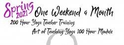 2021 Spring Yoga Teacher Training - The Art of Teaching Yoga