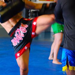 1 Muay Thai Training Session with Kru Yai Brian
