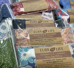 Lavender & Flax See Eye Pillow - Peace Goods