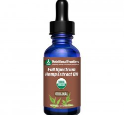 FS Hemp Extract Oil 1200mg Unflavored 2oz.