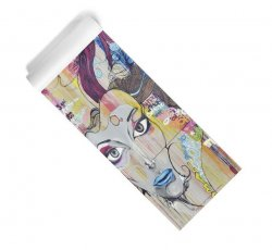 Themis The Graffiti Goddess Yoga Mat