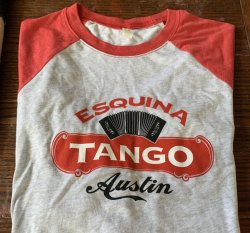T-shirt Grey with Red Sleeves to elbow