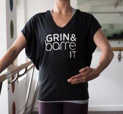 Grin & Barre T shirt