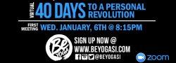 40 Days Personal Revolution 2021