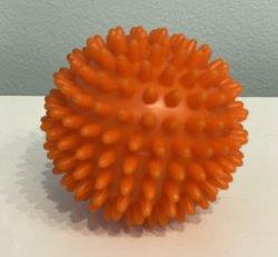 Orange spiky balls