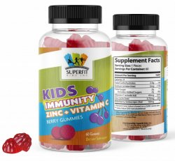 SUPERFIT KIDS IMMUNITY +VITAMIN C & ZINC-FOR KIDS AND TEENS