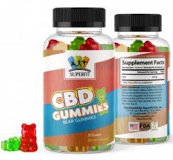 SUPERFIT CBD GUMMIES 25MG/750MG/BOTTLE FOR ADULTS/CHILDREN