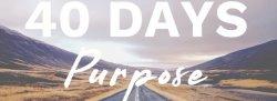 40 DAYS: PURPOSE (Zoom)