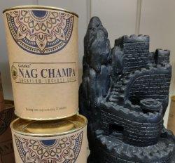 Backflow Incense Cones Nag Champa