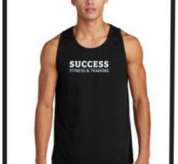 Success Men's Track-Style Tank Top