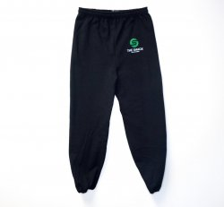 Black Unisex Sweatpants