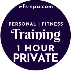 1 HR PRIVATE Personal Training/Fitness Instruction