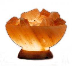 The Abundance Bowl Himalayan Salt Bowl 8-9 tall