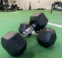 Dumbbell Knockout Package