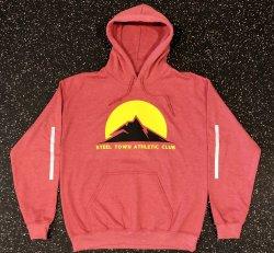 STAC Trail Hoodie - Red