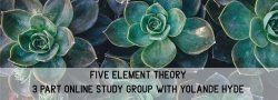 Five Element Theory - Open Lecture Series