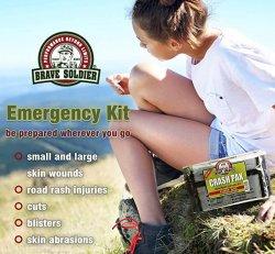 Brave Soldier Crash Pak First Aid Kit