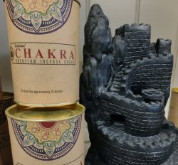 Backflow Incense Cones Chakra