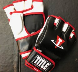 Title MMA Training Gloves