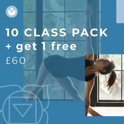 10 Class Pack  + GET 1 FREE