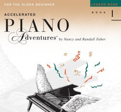 Piano Adventures Accelerated Level 1- Lesson