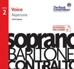 RCM Voice Repertoire Level 2 2019