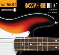 Bass Method Book 1 - Hal Leonard - 2nd Edition