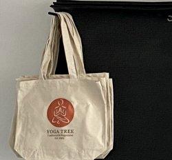 Yoga Tree Est 2002 Cotton Bag